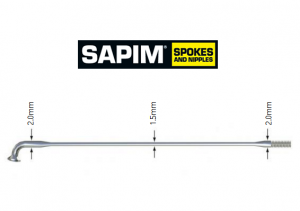 Sapim Laser Spokes and Nipples
